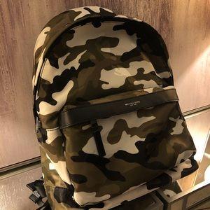 MICHAEL KORS camo backpack